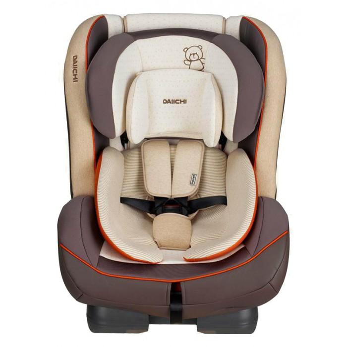 Автокресло Daiichi First 7First 7Автокресло Daiichi First 7 – это универсальное детское кресло с широким возрастным диапазоном и большим углом наклона спинки. Уникальный, трансформируемый, внутренний вкладыш позволяет перевозить новорожденных малышей. Кресло обладает завидными внутренними размерами, что упрощает перевозку крупных детей и детей в зимней одежде. Встроенные ремни увеличенной длины рассчитаны на детей до 7 лет. Автокресла от компании Daiichi относятся к премиум сегменту, но при его можно купить по низкой цене, мало того, аналогов на рынке просто нет.  Автокресло считается универсальным, т.к. рассчитано на детей от рождения до 6-7 лет и относится к группе 0+/1/2. Рассчитано на детей ростом до 125 сантиметров и весом до 25 килограмм.  Автокресло Daiichi First 7 устанавливается на заднем сиденье, как против хода, так и по ходу движения, в зависимости от роста и веса ребенка. Крепление осуществляется при помощи штатных, трехточечных ремней автомобиля. Удобная система фиксации гарантирует простое и надежное крепление в салоне автомобиля.  Серия Organic - элементы чехла светло-бежевого цвета изготовлены из натурального хлопка, цвета Oragic Tangerine и Organic Black, элементы чехла других цветов из фирменного материала CoolEver. Серия Basic - все элементы чехла изготовлены из фирменного материала CoolEver, цвета: Sky Blue, Burgundy, Lime Green, Mustand.  Сидение: каркас - упрочненный пластик обивка - органический хлопок/Aerocool возраст с рождения до 7 лет (0-25 кг) рост до 125 см анатомическая подушка внутренние ремни пятиточечные мягкие накладки на внутренние ремни регулировка наклона - 4 положения регулировка высоты подголовника - 7 положений защита от боковых ударов съемный чехол съемный внутренний вкладыш для новорожденных  Крепление: режим Baby: группа 0+: вес: 0 – 13 кг, возраст: от 0 до 12 – 15 мес - установка автокресла против хода движения автомобиля защитит голову ребенка. режим Toddler: группа 1: вес: 9 – 18 кг, возраст: 9 месяцев – 4 года - исполь