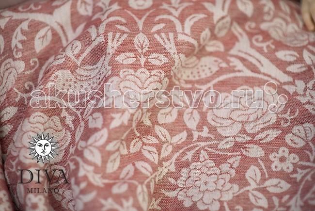 Слинг Diva Milano шарф, лен-конопля (3.7 м)шарф, лен-конопля (3.7 м)Слинг-шарф Diva Milano - мягкий, нежный шарф, особенно приятен для новорожденных и деток до года.  Шарф со льном и коноплей из новой коллекции Diva Milano: мягкий новым, рыхлый, холодящий в жару - идеален для тяжелого ребенка, особенно летом. Поверхностная плотность - 295 г/м2. Переплетаются нити двух цветов: оранжевая и коричневая.  Особенности слинга-шарфа Diva Milano: прекрасный дизайн от итальянских дизайнеров компании большой выбор расцветок универсальные характеристики (шарф мягкий новым благодаря специальной механической обработке, но средней толщины, так что его можно использовать и с новорожденным, и с подросшим ребенком) отличное качество   Края слинга - подшитые. Состав: 70% египетский хлопок, 20% лен, 10% конопля Размер: 3.7 м  Египетский хлопок - это самый лучший и самый дорогой сорт хлопка - длинноволокнистый, его обычно используют для производства одежды или постельного белья класса люкс. Благодаря длинным и тонким волокнам такой хлопок не скатывается в катышки, из него получаются легкие, но крепкие, шелковистые и мягкие нити. При надлежащем уходе слинги из египетского хлопка прослужат несколько десятилетий, что оправдывает более высокую цену ткани.<br>