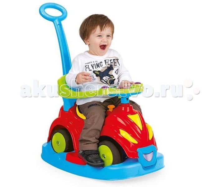 Каталка Dolu Автомобиль 4 в 1 с родительской ручкойАвтомобиль 4 в 1 с родительской ручкойКаталка Dolu Автомобиль 4 в 1 с родительской ручкой яркая многофункциональная игрушка для малыша.   Особенности: у игрушки есть площадка-основание, которое лекго отстегивается и пристегивается. у машинки есть багажник под сидением. родительская ручка помогает родителям контролировать движения своего ребенка все элементы открепляются и прикрепляются обратно.<br>