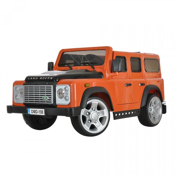 Электромобиль Dongma Land Rover Defender 12VLand Rover Defender 12VDongma Электромобиль Land Rover Defender 12V— электроминикар, оснащенный всем необходимым, чтобы малыш почувствовал себя настоящим водителем. Несколько скоростей, ремень безопасности, звуковые эффекты, светодиодные огни — автомобиль несомненно порадует маленького Шумахера и не даст ему заскучать.  Особенности: Изготовлен из высококачественного ударопрочного пластика Колеса из пластика с резиновой накладкой Одно посадочное место Ремень безопасности Запуск двигателя кнопкой Амортизаторы на задней оси Светодиодные передние фары Несколько скоростей: 3 — вперед, 1 назад (максимальная — 7 км/ч) Звуковые эффекты Разъем и провод для МР3-устройств: можно слушать музыку Пульт дистанционного управления типа Bluetooth Источник питания — батарея напряжением 12V (работает 70-80 минут) Источник питания для пульта — 2 батарейки типа ААА Максимальный вес ребенка: 30 кг<br>