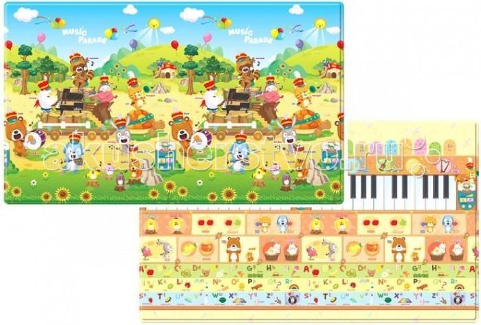 Игровой коврик Dwinguler Sound PlayMat музыкальный 230х140х1.5 смSound PlayMat музыкальный 230х140х1.5 смИгровой развивающий коврик Dwinguler может быть использован как для игры, так и для учебы. Благодаря этому коврику малыш сможет выучить самые важные для его возраста понятия. Яркие и красочные изображения, любимые мультипликационные герои помогут малышу узнать много чего интересного.  Развивающий коврик функционален с обеих сторон. Двухсторонний авторский дизайн, который привлечет повышенное внимание ребенка и гарантировано понравиться ему.   Детский игровой коврик Dwinguler изготовлен из высококачественных нетоксичных материалов и является безвредным для вашего ребенка и окружающей среды. Детский игровой коврик Dwinguler произведён с использованием специальных технологий компании I&S, которые успешно прошли сертификацию стандарта CPSIA в США и стандартов безопасности в Европе.  Развивающий коврик Dwinguler обладает высоким качеством, практичностью и экологичностью. Его нескользящая поверхность обеспечивает превосходную амортизацию от возможных толчков и ударов при обычных падениях и кувырканиях. Поглощает шумы.  Коврик Dwinguler Sound PlayMat умеет издавать звуки и слова, обучая ваших детей словам и звукам.  Посредством музыкального карандаша, в котором встроен динамик, проигрываются звуки музыкальных инструментов: пианино, виолончели, барабана, кларнета, а также звуки животных и их названия и остальных деталей дизайна (облако, солнца и т.д) обоих сторон коврика на английском языке. Питание для музыкального карандаша: две одноразовые либо аккумуляторные батарейки размером AAA (батарейки в комплект коврика не входят).  Детские игровые коврики большого размера, станут настоящей находкой для общественных детских игровых центров. Необыкновенно мягкие и безопасные коврики Dwinguler, придутся по вкусу маленьким посетителям.   Характеристики: игровые коврики созданы специально для малышей, произведены из экологически чистых материалов и абсолютно безопасны для детей в 