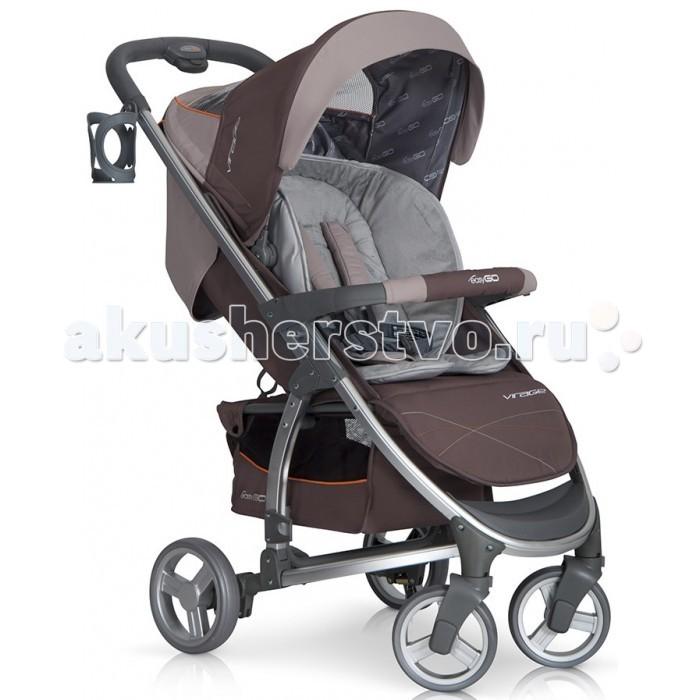 Прогулочная коляска EasyGo VirageVirageДетская коляска EasyGo Virage станет незаменимой во время прогулок. Ее основными положительными чертами являются удобство и безопасность, может помочь заботливым родителям в организации детского досуга.  Особенности: Система складывания - книжка Алюминиевая рама Капюшон с дополнительной секцией и козырьком от солнца Безопасный бампер для ребенка Возможность складывания коляски одним движением, не складывая при этом капюшон и бампер Плавная регулировка спинки до положения лежа 2-ступенчатая регуляция подножки 5-точечные ремни безопасности с мягкими плечевыми накладками Плавная тормозная система Удобная нескользящая ручка Система ускоренной сборки и разборки колес Автоматическая блокировка коляски в сложенном виде для легкого перемещения Окно в капюшоне Карман в задней части капюшона Материал коляски из плотной водонепроницаемой ткани, снимается для стирки  В комплекте: Держатель для бутылочки Утепленный чехол на ножки Дождевик с вентиляционными отверстиями Вместительная корзина с легким доступом Двусторонний матрасик (зима/лето) Практичная сумка, которая после расстегивания также может использоваться как пеленальный столик  Размеры: В разобранном с колесами (д/ш/в): 96x56x110см Сложенные вместе с колесами (д/ш/в): 90x56x49см Сложенная без колес (д/ш/в): 80x48x25 Ширина сиденья: 40 см Глубина сиденья: 22 см Высота спинки: 44 см Длина подножки: 21 см Диаметр передних колес: 16 см Диаметр задних колес: 19 см Вес: 8.6 кг<br>