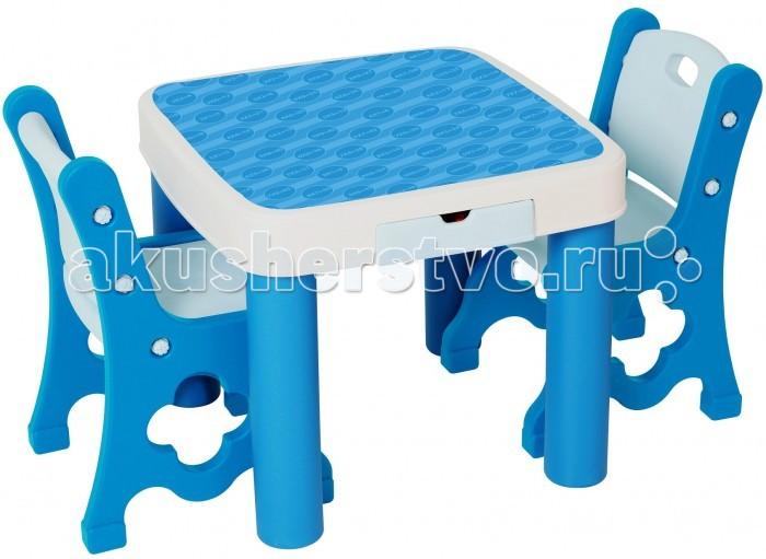 Столы и стулья Edu-Play Детский стол с двумя стульями