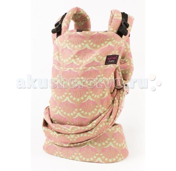 Рюкзак-кенгуру Emeibaby IpaIpaEmeibaby Слинг-рюкзак Ipa  Emeibaby является гибридом слинга и эргономичного рюкзака. Он объединяет в себе преимущества слинга с простотой использования рюкзака. Emeibaby придуман мамой, которая оценив преимущества слинга, не хотела отказываться от него со своей маленькой дочкой, но, в то же время, хотела упростить процесс использования. Она много экспериментировала. И, наконец, придумала альтернативу - emeibaby – слинг для малыша и рюкзак для родителя. И никаких намоток и узлов!  Рюкзак пропорционально распределяет нагрузку для родителя за счет широких набивных лямок и поясного ремня. Поясной ремень широкий и удобный. Носить малыша комфортно не только на бедрах, но и на талии и выше.  Этот эрго-рюкзак идеально подходит малышам вне зависимости от его роста и размера! Ткань слинга оптимально регулируется таким образом, что края всегда находятся под коленками малыша!! Слинговая часть emeibaby обеспечивает равномерное натяжение по спинке и правильное разведение ножек. Cлинг двойного шарфового плетения Girasol (Германия) надежно фиксирует регулировку при помощи колец. В верхней «рюкзачной» части изделия спрятан подголовник, который можно использовать как валик под голову, для не подросшего малыша. Подголовник несъемный и предназначен для фиксации головы ребенка во время сна. Лямки рюкзака широкие, средней плотности. Предназначены только для параллельного ношения. Лямки регулируются в двух направлениях: снизу и сверху лямки.  Особенности: Emeibaby подходит для малышей от полутора – 2 мес и до 3 лет. Длина поясного ремня регулируется от примерно от 60 см (XXS) до 150 см (XXL) Шарфовая ткань: Girasol (Германия).  !Важно отметить, что производитель Emeibaby рекомендует данное изделие даже для крох, весом 2,5 кг. Но так как эрго-рюкзак не регулируется по высоте, то спинка изделия может оказаться слишком высокой для не подросшего ребенка. Верхний край должен быть не выше середины затылка, это обеспечивает безопасное ношение и контроль дыхания реб