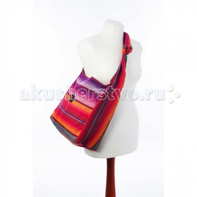Emeibaby Сумка для мамыСумка для мамыСумка для мамы Emeibaby - мамин аксессуар в тон слинг-рюкзака Emeibaby.  Такую сумку удобнее всего носить через плечо, можно разместить ее как карман рюкзака, дополнительно защитив малыша от ветра.  множество внутренних карманов (для бутылочки, подгузников и всякой всячины) выполнена из шарфовой ткани (100% органический хлопок), поэтому она прочная и долговечная  Материал: 100% органический хлопок (Oeko-Tex-Standard 100)<br>