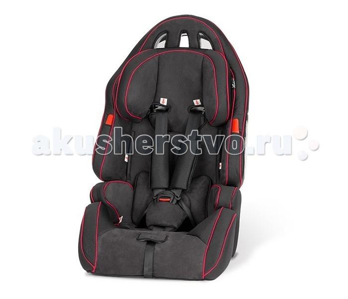 Автокресло Esspero Cross SportCross SportEsspero Автокресло Cross Sport - качественное автокресло для детей от 9 месяцев до 12 лет (от 9 кг до 36 кг). Очень вместительное кресло, благодаря чему ребенок поместится даже в верхней одежде. Ремни и подголовник можно регулировать по высоте, по мере роста ребенка. Идеально продуманная конфигурация позволяет для взрослого ребенка сделать более компактный бустер. Для этого достаточно снять спинку кресла и ремни безопасности, обеспечив защиту маленькому пассажиру посредством штатных ремней автомобиля. Все материалы прошли проверку на экологичность, гипоаллергенность и безопасность для окружающих. Верхнее покрытие можно стирать ручной стиркой при температуре воды 30 градусов.  Особенности: Для детей весом до 25 кг используется как универсальное автокресло с пятиточечными ремнями безопасности. Для детей весом свыше 25 кг возможно как бустер с фиксацией штатными ремнями автомобиля. Вместительное кресло, в котором ребёнок поместится даже в верхней одежде. Несколько положений высоты подголовника. Обивка сидения снимается и стирается при температуре 30°С. Кресло крепится на стационарные ремни безопасности автомобиля по инструкции. 5-точечный ремень безопасности автокресла подгоняется строго под рост и объёмы ребёнка. Есть мягкие плечевые вставки. Опора для головы и вкладыш сделаны из мягкой дышащей микрофибры. Оснащено системой защиты от бокового удара. Сделано из материалов, поглощающих силу удара. Показаны отличные результаты в тестах на безопасность.<br>