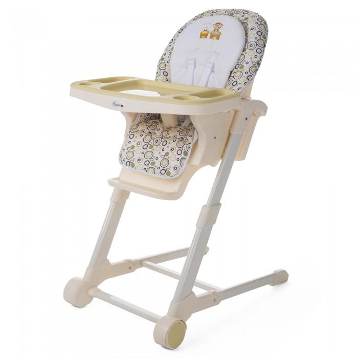 Стульчик для кормления Esspero MelissaMelissaСтульчик для кормления Esspero Melissa - необходимый предмет мебели для детей в возрасте от 6 месяцев до 3 лет. Надёжная конструкция с закруглёнными углами оснащена двумя бесшумными колёсами, благодаря которым стул можно без усилий передвигать из комнаты в комнату, не боясь испортить пол. Модель компактно и быстро складывается, её удобно хранить на небольшой кухне. В стульчике ребёнок будет с комфортом есть и играть. Угол наклона спинки можно регулировать, а эластичные ремни безопасности и перемычка между ног надёжно фиксируют положение малыша. За детской мебелью просто ухаживать: достаточно протирать обивку влажной тряпкой.  Особенности: надёжная устойчивая конструкция; бесшумные колёса с возможностью блокировки; два подноса для питания и игр; на столике есть углубление для ёмкости с жидкостью; возможность регулировка угла наклона спинки (5 положений, есть положение для сна); конструкция компактно складывается; пятиточечные ремни безопасности; карман для мелочей; фиксирующий межножный разделитель; просторное сидение; мягкая влагооталкивающая обивка.<br>