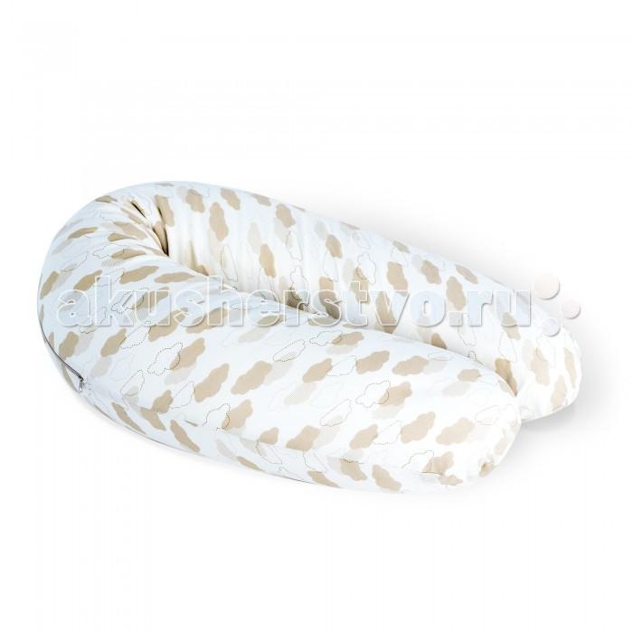 Esspero Подушка для беременных GrainyПодушка для беременных GrainyПодушка для беременных Esspero Grainy - это лучшее обеспечение удобства для будущих мам во время сна и отдыха и необходимый предмет для кормящих мам.   Разработанная в виде бумеранга модель подушки снизит нагрузки и создаст комфорт. Благодаря специальной U-образной форме подушка снизит давление не только на плечи и шею, но и на внутренние органы.  Чехол подушки съемный, выполнен из натуральной хлопчатобумажной ткани, в качестве наполнителя использованы пенополистирольные шарики. Все материалы гипоаллергенны.  Длина 140 см. Диаметр 25 см<br>
