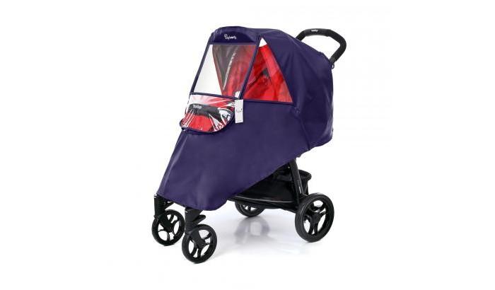 Дождевик Esspero WindowWindowДождевик Esspero Window - инновация в линейке дождевиков для детских колясок от Esspero!  Изготовлен из японской ткани эпонж, напоминающей плащевку. На поверхности дождевика из эпонжа вода не задерживается, а превращается в капельки и скатывается вниз по дождевику. Дождевик из эпонжа быстро высыхает, не усаживается, не тускнеет и не теряет своих свойств даже при длительной и частой эксплуатации.   Еще одно отличие Дождевика Esspero Window от других моделей - жесткий силиконовый экран, застегивающийся на застежку-молнию, который отлично держит форму и не заминается. Экран при необходимости можно отстегнуть и откинуть назад для образования окошка, при этом не нужно полностью снимать дождевик для беспрепятственного доступа к маленькому непоседе. Боковые силиконовые жабры имеют перфорацию, что непосредственно обеспечивает циркуляцию воздуха внутри коляски и предотвращает запотевание смотрового окошка.  Крепится дождевик за спинкой коляски с помощью двух эластичных хлястиков на кнопках. На задней части дождевика предусмотрены два глубоких кармашка, в которые можно положить Ваш зонт или любой другой необходимый предмет, который должен вовремя оказаться под рукой.  Дождевик Esspero Window универсален, подходит практически ко всем моделям детских прогулочных колясок любого производителя.  Дождевик Esspero Window - это стильный, изысканный и высококачественный аксессуар для Вашей детской коляски.<br>