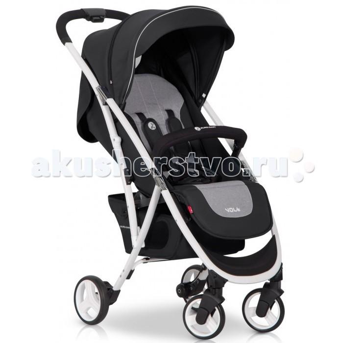 Прогулочная коляска Euro-Cart VoltVoltПрогулочная коляска Euro-Cart Volt - современная, легкая, маневренная коляска. В сложенном виде очень компактная. Современная детская коляска, подходит для детей от 6 до 36 месяцев. Легкий вес и небольшой размер в сложенном состоянии делают модель очень удобной для прогулок и путешествий.  Особенности: Алюминиевая рама Шарикоподшипниковые колеса Инновационная система складывания (одной рукой) Система складывания - книжка Возможность сложения не снимая бампера 3 позиции положения спинки (вплоть до положения лежа) 2 положения подножки для ног Удлиненный капюшон с солнцезащитным козырьком Смотровое окошко с вентиляционным отверстием на капюшоне 2 кармана для мелочей в задней части коляски Большая корзина для покупок Теплый чехол для ног Практичный тормоз Автоматическая блокировка коляски в сложенном виде для легкого перемещения 5-точечные ремни безопасности с мягкими плечевыми накладками Передние поворотные колеса с возможностью блокировки для движения по прямой Бампер для ребенка.  В комлекте дождевик полностью закрывающий коляску и сумка для переноски (коляску можно упаковать не снимая колес, капюшона и бампера).  Коляска произведена в соответствии с европейским стандартом безопасности EN 1888: 2012.  Размеры: В разобранном с колесами (д/ш/в): 85x50x106 см Сложенные вместе с колесами (д/ш/в): 27x50x63 см Сложенные без колес (д/ш/в): 27x43x61 см Ширина сиденья: 33 см Длина сиденья: 22 см Высота спинки: 43 см Длина подножки: 19 см Диаметр передних колес: 15 см Диаметр задних колес: 17 см Вес: 7 кг.<br>