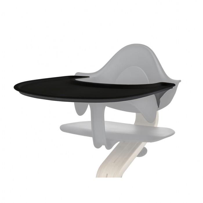 Evomove Столик Tray для стульчика NomiСтолик Tray для стульчика NomiДля еще большего удобства на стульчик легко устанавливается съемный столик TRAY для стульчика NOMI.  Столик используется вместе с фиксатором Nomi Mini и выдерживает вес до 5 кг. Пригоден к мытью в посудомоечной машине.   Состав: высококачественный перерабатываемый пластик без фталатов и парабенов  Аксессуар для стульчика Evomove Nomi, используется вместе с фиксатором Nomi Mini.<br>