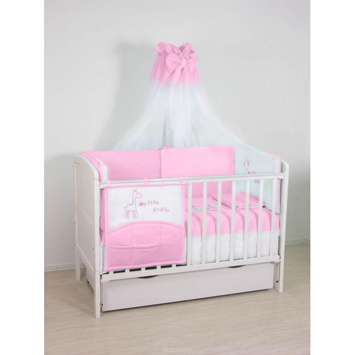 Комплекты в кроватку Fairy Жирафик 120х60 (7 предметов) fairy сумка для пеленок и подгузников жирафик