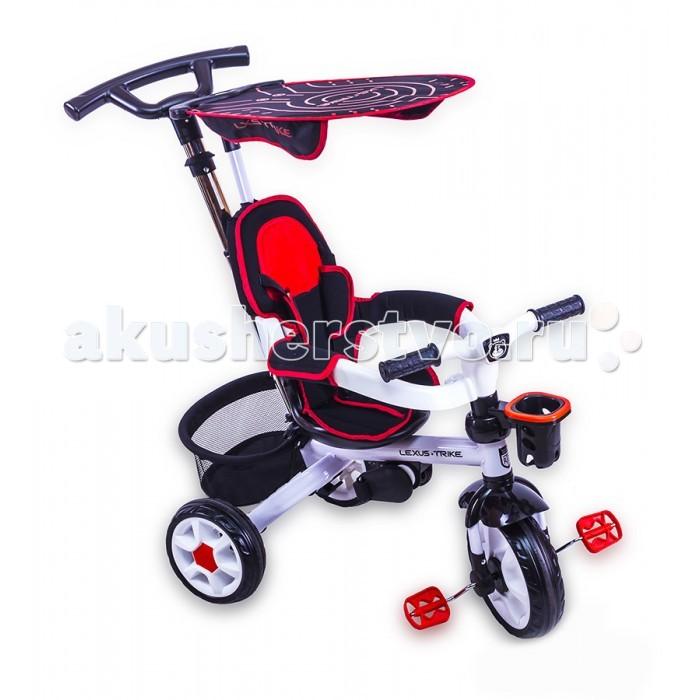 """Велосипед трехколесный Family LXS-Trike DT129LXS-Trike DT129Велосипед трехколесный LXS-Trike DT129 - это яркий, стильный и абсолютно надежный трехколесный велосипед из прочного пластика и металла.  Превосходная модель для прогулок с малышом.  Велосипед рассчитан для детей от 1 до 4 лет Допустимый вес до 25 кг. Ручка-толкатель - телескопическая, с функцией регулировки высоты Сидение регулируется по горизонтали в трех положениях и имеет удобный съемный чехол, который надежно крепится к сиденью липучками Ремни безопасности – трехточечные Бампер расположен на уровне груди ребенка для его большей защиты  Колёса из вспененной резины гарантируют устойчивость к стиранию, обеспечивают бесшумное катание Велосипед оснащен удобной складной подножкой Багажная сумка - сетка К корпусу руля крепится пластиковая подставка для бутылочки Козырек. Велосипед оснащен защитным козырьком. Козырек поднимается и опускается. Усовершенствованный, облегченный тип сборки по системе """"до щелчка"""". Инструменты не нужны!  Велосипед сохранил и улучшил основные преимущества прошлых моделей.<br>"""