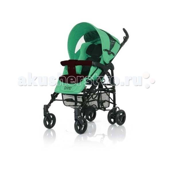 Коляска-трость FD Design PrimoPrimoКоляска-трость FD Design Primo - надежная и комфортная прогулочная коляска для детей от 6 месяцев. Регулируемая по высоте ручка делает коляску удобной для родителей любого роста.  Передние колеса поворотные, просторное спальное место, спинка раскладывается до почти горизонтального положения.   Особенности:  задние колеса сдвоенные, с амортизаторами;  передние колеса вращаются на 360 градусов, при необходимости их можно зафиксировать;  спинка плавно опускается в полностью горизонтальное положение - для сна;  объемный капюшон с кармашком и окошком для наблюдения за ребенком;  пятиточечные ремни безопасности с мягкими накладками;  подножка регулируется. В комплект коляски Jetem Primo входит:  теплый чехол на ножки  дождевик  съемный утепленный матрасик  корзина для покупок. Размеры и вес:  Размеры спального места - 90 x 33 см  Вес - 9,2 кг  Размеры в разложенном состоянии (Д*Ш*В): 53 х 84 х 108 см  Размеры в сложенном состоянии (Д*Ш*В): 32 х 34 х 100 см.<br>
