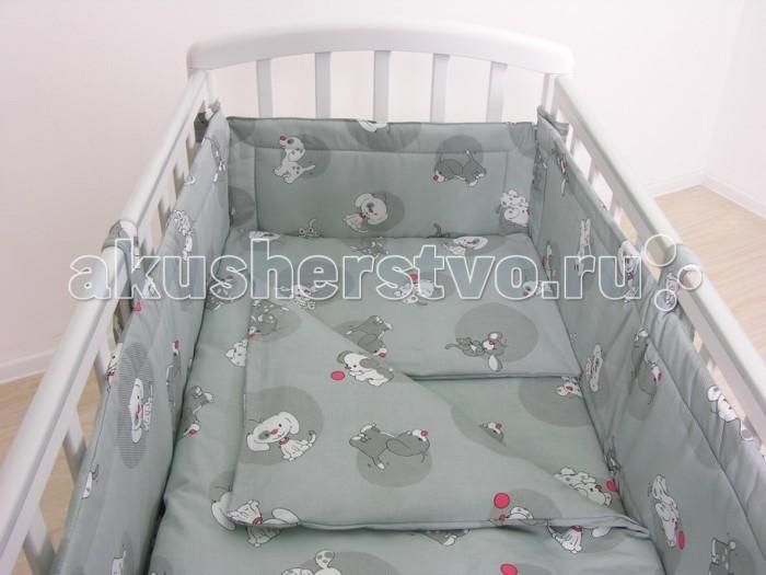 Комплекты в кроватку Фея Наши друзья 120х60 (7 предметов) комплекты в кроватку fairy жирафик 120х60 7 предметов