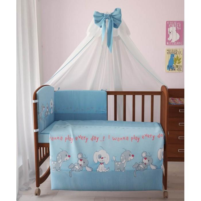 Комплекты в кроватку Фея Веселая игра 120х60 (7 предметов) комплекты в кроватку fairy жирафик 120х60 7 предметов