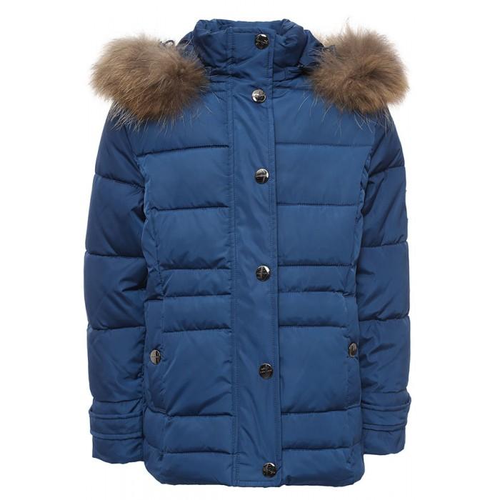 Finn Flare Kids Куртка для девочки KW16-71008Куртка для девочки KW16-71008Finn Flare Kids Куртка для девочки KW16-71008  Стильная яркая куртка выполнена из прочного материала с утеплителем полиэстер высокой плотности, который имеет отличные теплоизоляционные свойства и является идеальным наполнителем для зимней одежды.  Модель приталенного кроя застёгивается на молнию, расположенную по длине куртки, и имеет планку на кнопках. Карманы вшитые на кнопках. Капюшон отделан натуральным мехом.  Состав:  - Основной материал: 100% полиэстер - Подкладка: 100% полиэстер - Утеплитель: 100% полиэстер - Плотность утеплителя, г/м2: 265 - Мех: енот натуральный - Фактура материала: Плащевая ткань  Уход: Машинная стирка в щадящем режиме при максимальной температуре 30°C.  Финский бренд Finn Flare предлагает широкий ассортимент качественной продукции. Модные брендовые вещи являются уникальным предложением для тех, кто предпочитает комфорт и обладает хорошим вкусом. Финская компания уже более полувека создает оригинальные и стильные линейки одежды, обуви и аксессуаров.<br>
