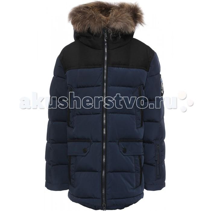 Finn Flare Kids Куртка для мальчика KW16-81003Куртка для мальчика KW16-81003Finn Flare Kids Куртка для мальчика KW16-81003  Стильная и комфортная куртка для мальчика выполнена из прочного материала с утеплителем пух/перо, который имеет отличные теплоизоляционные свойства и является идеальным наполнителем для зимней одежды.  Модель прямого кроя застёгивается на молнию, расположенную по длине куртки. Карманы прорезные на кнопках. Капюшон отделан натуральным мехом.  Состав:  - Основной материал: 100% полиэстер - Подкладка: 100% полиэстер - Утеплитель: 80/20%  пух/перо - Плотность утеплителя, г/м2: 350 - Мех: енот натуральный - Фактура материала: Плащевая ткань  Уход: Машинная стирка в щадящем режиме при максимальной температуре 30°C.  Финский бренд Finn Flare предлагает широкий ассортимент качественной продукции. Модные брендовые вещи являются уникальным предложением для тех, кто предпочитает комфорт и обладает хорошим вкусом. Финская компания уже более полувека создает оригинальные и стильные линейки одежды, обуви и аксессуаров.<br>