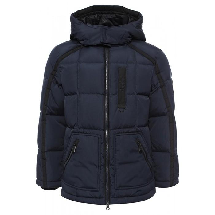 Finn Flare Kids Куртка для мальчика KW16-81004Куртка для мальчика KW16-81004Finn Flare Kids Куртка для мальчика KW16-81004  Стильная и комфортная куртка для мальчика выполнена из прочного материала с утеплителем пух/перо, который имеет отличные теплоизоляционные свойства и является идеальным наполнителем для зимней одежды.  Модель прямого кроя застёгивается на молнию, расположенную по длине куртки. Карманы прорезные на молнии.   Состав:  - Основной материал: 100% полиэстер - Подкладка: 100% полиэстер - Утеплитель: 80/20%  пух/перо - Плотность утеплителя, г/м2: 265 - Фактура материала: Плащевая ткань  Уход: Машинная стирка в щадящем режиме при максимальной температуре 30°C.  Финский бренд Finn Flare предлагает широкий ассортимент качественной продукции. Модные брендовые вещи являются уникальным предложением для тех, кто предпочитает комфорт и обладает хорошим вкусом. Финская компания уже более полувека создает оригинальные и стильные линейки одежды, обуви и аксессуаров.<br>