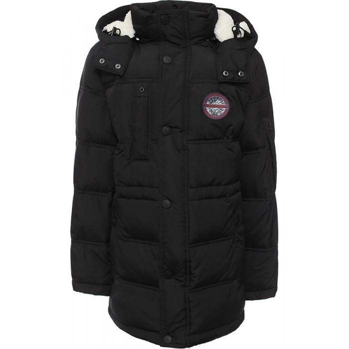 Finn Flare Kids Куртка для мальчика KW16-81005Куртка для мальчика KW16-81005Finn Flare Kids Куртка для мальчика KW16-81005  Стильная и комфортная куртка для мальчика выполнена из прочного материала с утеплителем пух/перо, который имеет отличные теплоизоляционные свойства и является идеальным наполнителем для зимней одежды.  Модель прямого кроя застёгивается на молнию, расположенную по длине куртки, имеет планку на кнопках. Карманы прорезные.   Состав:  - Основной материал: 100% полиэстер - Подкладка: 100% полиэстер - Утеплитель: 80/20%  пух/перо - Плотность утеплителя, г/м2: 300 - Фактура материала: Плащевая ткань  Уход: Машинная стирка в щадящем режиме при максимальной температуре 30°C.  Финский бренд Finn Flare предлагает широкий ассортимент качественной продукции. Модные брендовые вещи являются уникальным предложением для тех, кто предпочитает комфорт и обладает хорошим вкусом. Финская компания уже более полувека создает оригинальные и стильные линейки одежды, обуви и аксессуаров.<br>