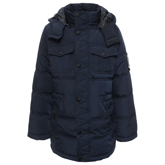 Finn Flare Kids Куртка для мальчика KW16-81007Куртка для мальчика KW16-81007Finn Flare Kids Куртка для мальчика KW16-81007  Стильная и комфортная куртка для мальчика выполнена из прочного материала с утеплителем полиэстер высокой плотности, который имеет отличные теплоизоляционные свойства и является идеальным наполнителем для зимней одежды.  Модель прямого кроя застёгивается на молнию, расположенную по длине куртки, имеет планку на кнопках. Карманы прорезные на молнии и накладные на кнопках.   Состав:  - Основной материал: 100% полиэстер - Подкладка: 100% полиэстер - Утеплитель: 100% полиэстер (Downfill) - Плотность утеплителя, г/м2: 320 - Фактура материала: Плащевая ткань  Уход: Машинная стирка в щадящем режиме при максимальной температуре 30°C.  Финский бренд Finn Flare предлагает широкий ассортимент качественной продукции. Модные брендовые вещи являются уникальным предложением для тех, кто предпочитает комфорт и обладает хорошим вкусом. Финская компания уже более полувека создает оригинальные и стильные линейки одежды, обуви и аксессуаров.<br>