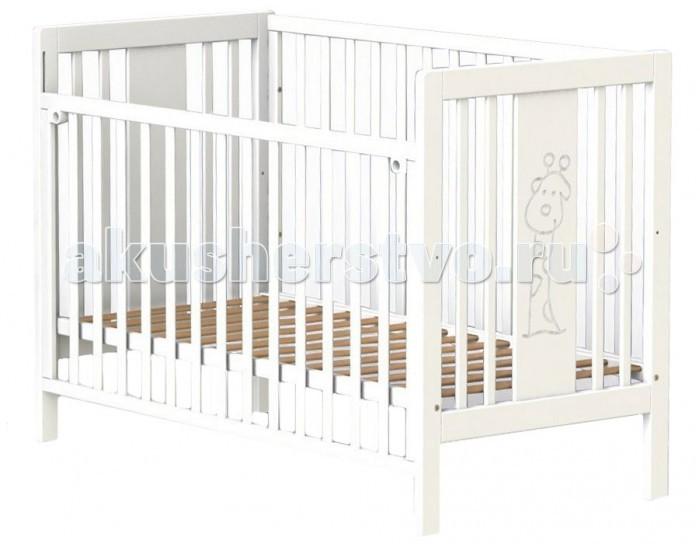 Детская кроватка Fiorellino GiraffeGiraffeДетская кроватка Fiorellino Giraffe производится из качественных и надёжных материалов, которые гарантируют практичность и долговечность использования. Каркас кроваток выполнен целиком из массива альпийского бука – он прекрасно подходит для детской мебели.  Особенности: удобная и современная детская кроватка;  оригинальный дизайн – кроватка декорирована резным рисунком в виде забавного жирафа;   материал: натуральный бук;  бортик опускается или полностью снимается;  ложе регулируется по высоте: 2 позиции;  нетоксичные лаки и краски;  в комплект входят колёсики.<br>