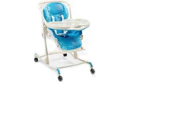 Стульчик для кормления Geoby Y801Y801Стульчик для кормления Geoby Y801  Яркий и стильны стульчик для кормления Y801 обязательно понравится Вам качеством исполнения, а малышу симпатичными принтами а так же своим удобством.  Особенности: Для детей от 7 месяцев до 2 лет Вес ребенка до 25 кг Мягкое сиденье со съемным чехлом Система ремней безопасности 6 положений по высоте 2 положения спинки Съемная пластиковая столешница Колеса с фиксаторами Функция кресла-качалки Съемная подставка для посуды Комплект пластиковой посуды (6 предметов) Размер стульчика: 74 х 63 х 103 см Вес: 9,3 кг Высота: 105 см Ширина: 53 см Длина: 77 см<br>