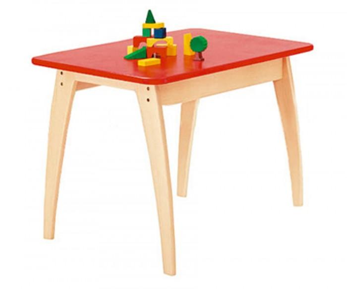 Geuther Столик детский BambinoСтолик детский BambinoДети погружаются в собственные игровые миры, которые полностью приспособлены к их возрасту и потребностям. Например, они играют во взрослых на свой детский манер и, наконец, ощущают себя по-настоящему дома. А так как товарищи по детским играм всегда являются желанными гостями, мебель для детей должна быть по-настоящему прочной, чтобы пережить прекрасное детство и проявить свои качества во время длительного использования…  Характеристики: бук, ДСП нетоксичные краски на крышке стола углы закруглены, поэтому стол безопасен для детей благодаря конструкции - очень устойчив  Размер (дxшхв) 76х52х55 см<br>