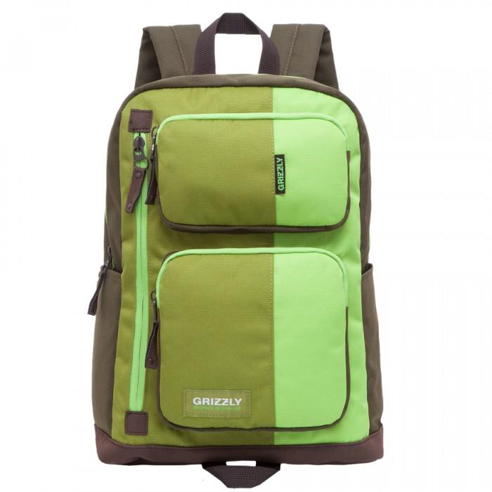Grizzly Рюкзак RU-619-1Рюкзак RU-619-1Grizzly Рюкзак RU-619-1 выполнен из очень легкой, эластичной ткани высокой прочности. Она устойчива к износу, хорошо стирается и быстро сохнет, сохраняя свою форму.  Особенности: рюкзак молодежный одно отделение два объемных кармана на молнии на передней стенке  2 боковых кармана  внутренний карман на молнии внутренний укрепленный карман для ноутбука укрепленная спинка карман быстрого доступа в передней части рюкзака карман быстрого доступа на задней стенке дополнительная ручка-петля укрепленные лямки.<br>