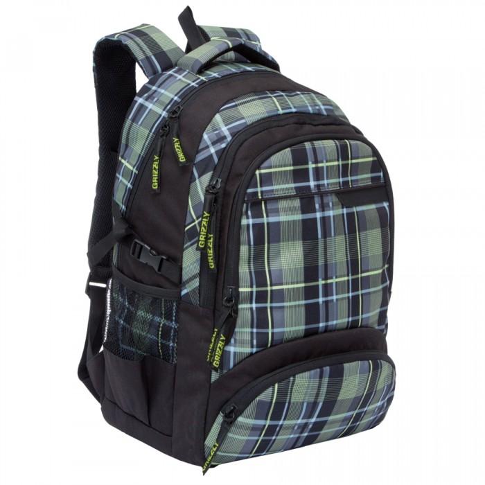 цены  Школьные рюкзаки Grizzly Рюкзак RU-709-1