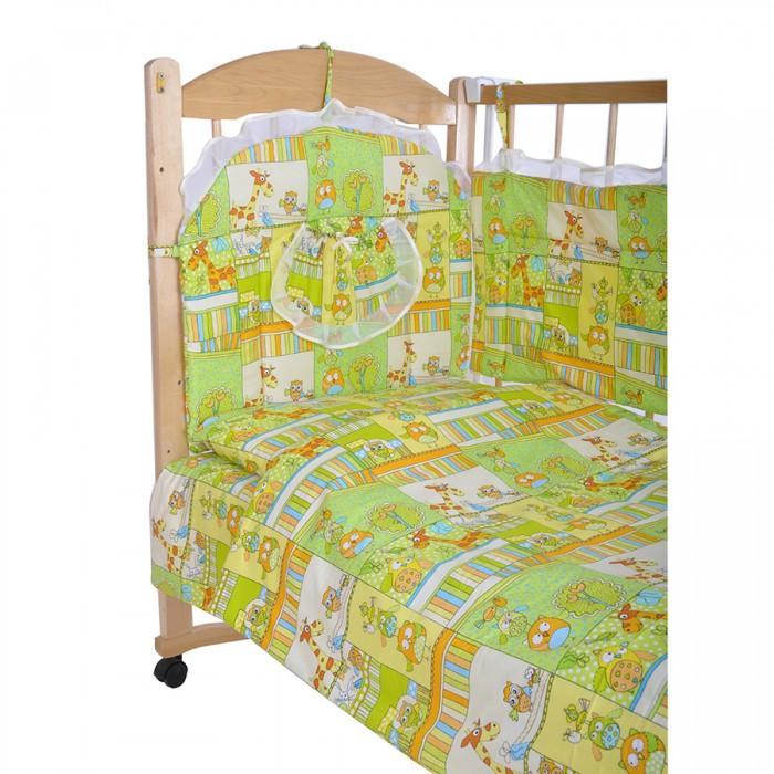 Комплект в кроватку GulSara 52 (6 предметов)