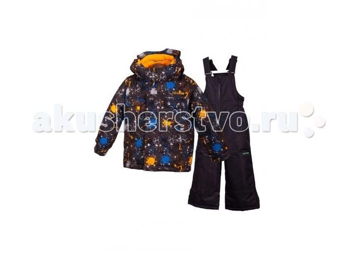 Gusti X-Trem Комплект одежды XWB 4780X-Trem Комплект одежды XWB 4780Зимний костюм Gusti состоит из куртки и полукомбинезона. В нем ребенку тепло и удобно независимо от того, какая температура на улице. Такая верхняя одежда – идеальный вариант для суровой зимы с сильными морозами.  Куртка:  Ткань верха taslan 2000мм  Наполнитель тек-полифилл плотностью 230 гр/м (8 унций)  Подклад флис на груди и спинке  Снегозащитная юбка  Регулируемый рукав  Молнии и фурнитура YKK  Капюшон отстегивается  Брюки:  Ткань верха taslan 2000мм + Cordura Oxford сзади, на коленях, и по низу брючин  Наполнитель тек-полифилл плотностью 170 гр/м (6 унций)  Регулируемые лямки полукомбинезона.  Снегозащитные гетры.  Молнии и фурнитура YKK<br>