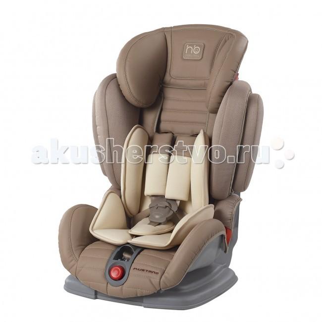 Автокресло Happy Baby MustangMustangАвтокресло Happy Baby Mustang — автомобильное кресло группы I-II-III (для детей от 9 до 36 кг). Регулируемые по высоте пятиточечные ремни с мягкими накладками обеспечивают безопасность и комфорт малыша. Уникальность этого автокресла в том, что оно регулируется по ширине и ребенку будет в нем комфортно в любое время года. Защита от боковых ударов с регулируемым по высоте подголовником обеспечивает дополнительную безопасность. Кресло имеет 4 угла наклона спинки, оснащено удобным механизмом регулировки. Автокресло крепится в автомобиле с помощью штатных трехточечных ремней безопасности и устанавливается лицом по ходу движения автомобиля.  Особенности: Регулировка высоты подголовника 4 положения наклона спинки Матрасик-вкладка для комфорта малыша Защита от боковых ударов Пятиточечные ремни безопасности с мягкими накладками От 9 месяцев до 12 лет<br>