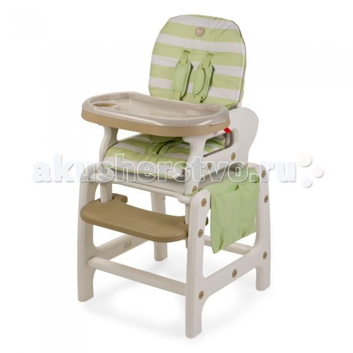 Стульчик для кормления Happy Baby Oliver V2Oliver V2Стульчик для кормления Happy Baby Oliver V2  Многофункциональный и практичный стульчик для кормления 3 в 1 Oliver V2. Уникальная особенность стульчика — в его трансформации. Благодаря инновационной конструкции, стульчик   Oliver V2 может использоваться в 3-х положениях: для кормления малыша в качестве кресла-качалки как парта, за которой малыш будет учиться, рисовать и играть  Стульчик для кормления оснащен удобной подставкой для ножек и съемным подносом с подстаканником. Положение спинки легко регулируется в трех позициях. Верхнюю часть конструкции без лишних усилий можно снять, превратив стульчик в парту для любимых занятий.   Стульчик для кормления 3 в 1 Oliver V2 просто содержать в чистоте: гладкую пластиковую поверхность подноса легко мыть, чехол стульчика быстро снимается для стирки. В комплекте удобная накладка-карман для игрушек и прочих мелочей.   Пятиточечные ремни и отсутствие острых углов обеспечат безопасное использование стульчика. Мобильность, лёгкость и компактность этой модели сочетаются с отличной функциональностью.  В комплекте: карман для мелочей, дуги для качания  Регулируемая спинка, 3 положения наклона Съемная столешница регулируется по глубине в 6 положениях и имеет съемный поднос с подстаканником Съемный чехол для сиденья Подставка для ножек Пятиточечные ремни безопасности регулируются по высоте Стульчик трансформируется в стульчик-парту и кресло-качалку Отсутствие острых углов  Максимальный вес ребенка: 18 кг Вес полного комплекта: 8 кг Ширина сиденья: 35 см Габариты в разложенном виде ДхШхВ: 67х58х103 см<br>