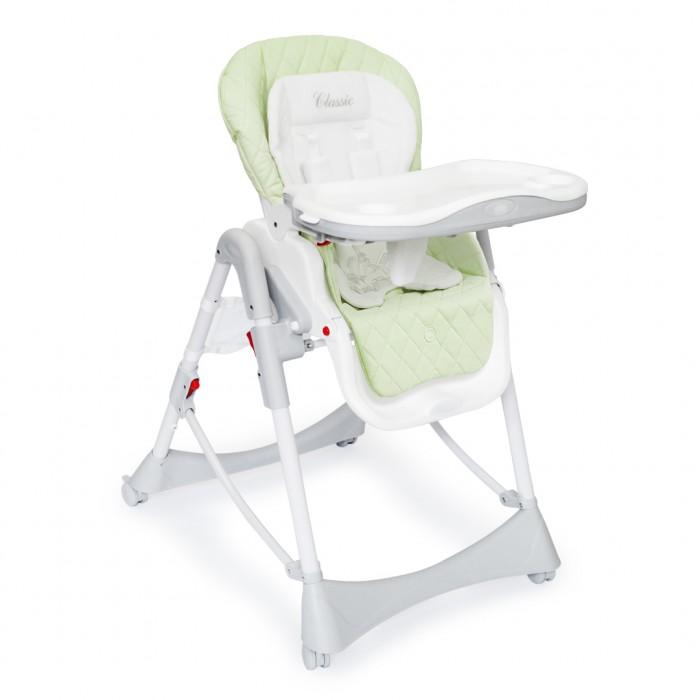 Стульчик для кормления Happy Baby WilliamУниверсальный стульчик для кормления с тремя регулируемыми положениями спинки и подножки, включая горизонтальное.  Регулируемое сиденье, 3 положения наклона 5-ступенчатое регулирование стульчика по высоте Съемная столешница регулируется по глубине в 3-х положениях и имеет съемный поднос с подстаканником Пятиточечные ремни безопасности с мягкими накладками регулируются по высоте Съемный чехол для сиденья из экокожи Дополнительный мягкий текстильный матрасик Регулируемая подставка для ножек 4 колеса Компактный в сложенном виде В комплекте сетка для игрушек Каркас: пластик, металл Максимальный вес ребенка: 15 кг Вес стульчика: 10,8 кг Ширина сиденья: 32 см Размеры в сложенном виде: 45х60х82 см Размеры в разложенном виде: 79х60х100 см Съемный чехол для сиденья Съёмная столешница Регулируемое сиденье Регулируемая подножка  Материал обивки заменитель кожи с мягким текстильным вкладышем.  Общие размеры: Ширина колесной базы: 54 см Размеры сиденья в разложенном виде: ширина – 32 см, длина – 85 см  Вес: 12 кг<br>