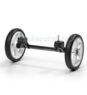 Hartan Quad-system для коляски SkyQuad-system для коляски SkyСистема дополнительных сменных передних колес Quad-system предназначена для увеличения маневренности коляски в любых условиях, куда бы Вы ни направились – на прогулку в парк или в магазин за покупками. Процесс замены колес очень прост, не требует инструментов и занимает минимум времени и сил. Подходит для колясок Hartan Sky.  Материалы: алюминиевая основа, колеса – полиуретан; не требует особого ухода Колеса- Цельные, полиуретановые, бескамерные<br>