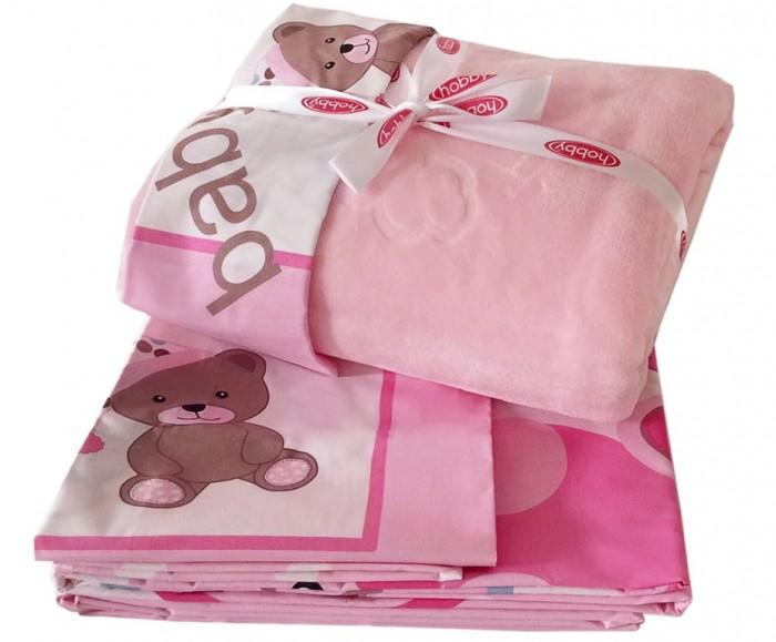 Постельное белье Hobby Home Collection С покрывалом Ponpon 100х150 см