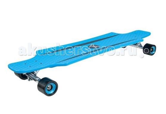 Hudora Лонгборд CruiseStarЛонгборд CruiseStarHudora Лонгборд CruiseStar для занятия лонгбордингом или просто катанием от 8 лет.  Особенности: Разновидность скейтов, характеризующаяся большей скоростью, повышенной устойчивостью, улучшенными ходовыми качествами, мягкой ездой Ударопрочная доска (дека) с анти-скольжения, с армированным волокном Подвеска с функцией анти-занос Колёса диаметром 51 мм х 70 мм, полиуретановые, класс 92А Подшипники - abec 7, хромированные Размеры: 91,4 см длина х 24,1 см ширина Максимальный вес пользователя 100 кг<br>