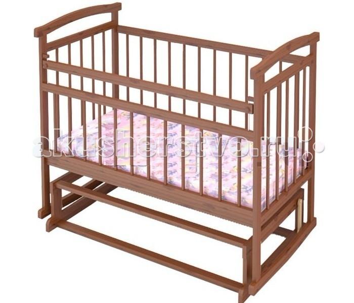 Детская кроватка Бэби Бум Аленка 2 поперечный маятникАленка 2 поперечный маятникДетская кроватка Бэби Бум Аленка 2 поперечный маятник  Модель подкупает лаконичным дизайном, совершенством форм и высокой функциональностью. Это достойный ответ дорогим элитным европейским аналогам!  Особенности: опускающаяся боковина с одной стороны; два уровня основания; полимерные накладки на перекладины(«грызунки») маятниковый механизм поперечного качания спинки - реечные стенки - реечные днище - реечное Внимание! Вся фурнитура белого цвета!<br>