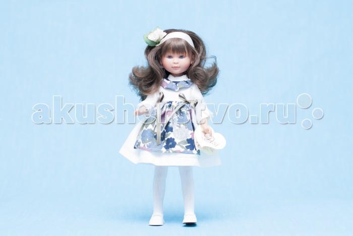 ASI Кукла Селия 30 см 163130Кукла Селия 30 см 163130Кукла, размер 30 см, выполнена из винила, длинные темные волосы, в нарядном белом платье с цветным передником, в красивой подарочной коробке.<br>