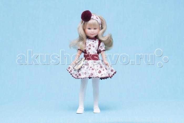 ASI Кукла Селия 30 см 163140Кукла Селия 30 см 163140Кукла, размер 30 см, выполнена из винила, длинные светлые волосы, в бордово-белом платье, в красивой подарочной коробке.<br>