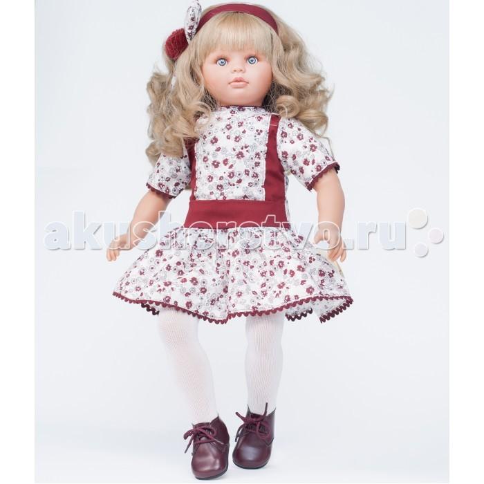 ASI Кукла Пепа 60 см 283140Кукла Пепа 60 см 283140Кукла, размер 60 см, тело мягконабивное, голова, руки и ноги из винила, длинные светлые волосы, в бордово-белом платье, в красивой подарочной коробке.<br>