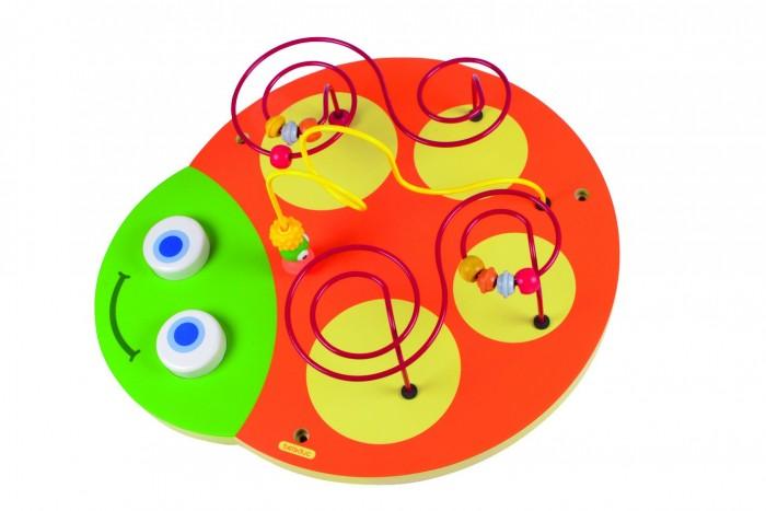 Деревянная игрушка Beleduc Настенный игровой элемент Гусеница Голова
