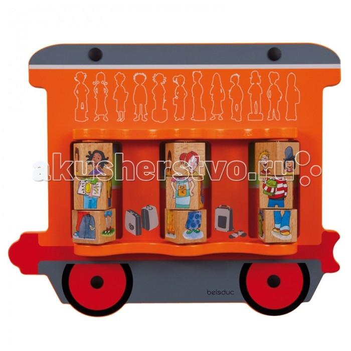 Деревянная игрушка Beleduc Настенный игровой элемент ДетиНастенный игровой элемент ДетиBeleduc Настенный игровой элемент Дети для детей старше 3-х лет.   Функции и направление элемента: определение фигур и их сопоставление, развитие у ребенка коммуникативных навыков.<br>