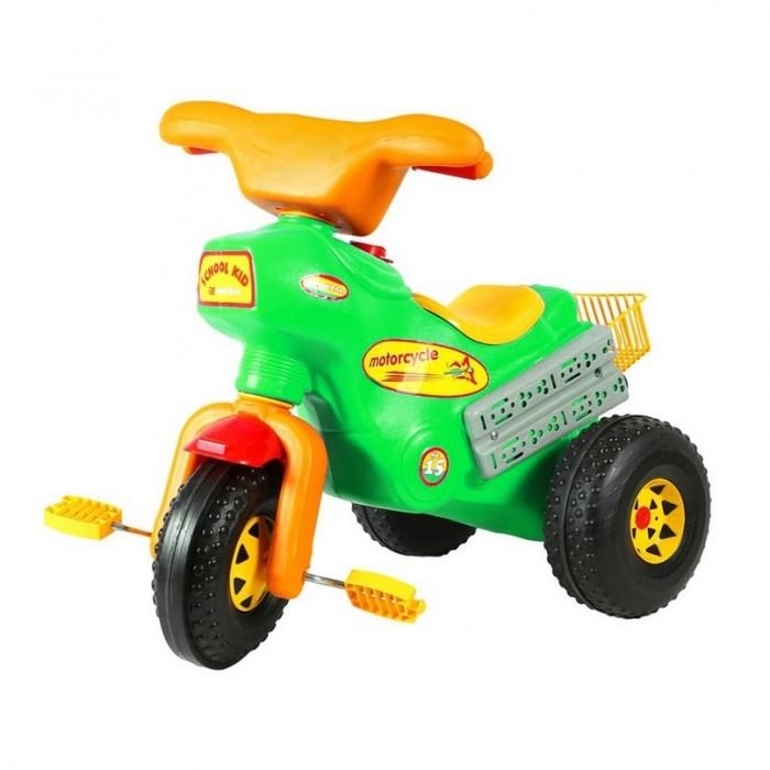 Велосипед трехколесный R-Toys КроссКроссПрочные колеса позволяют ездить на нем не только в доме, но и на улице! Яркая цветовая гамма привлечет всеобщее внимание, а также позволит кататься на нем как мальчикам, так и девочкам.   Характеристики: Велосипед сделан из качественных полимерных материалов Тип велосипеда: детский трехколесные Материал рамы: пластик Рост велосипедиста: до 90  Тип тормозов: ножной Материал (тип) колес: пластик Обода колес: пластик Оснащение: багажник  Размеры: 73x45x63 см.<br>
