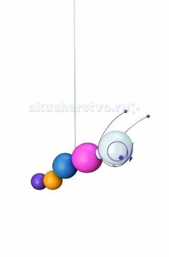 Светильник Massive Ruby подвеснойRuby подвеснойСветильник подвесной Massive Kico Ruby сделан в виде, гусеницы с которой так и хочется поиграть ребенку. Изготовлен из экологически безопасных материалов.Характеристики: Цоколь: Е27  Количество ламп: 1шт.  Мощность: 18 Вт  Напряжение: 230В  Материал: дерево  Ширина: 47 cм  Глубина: 13 cм  Высота: 125 cм<br>