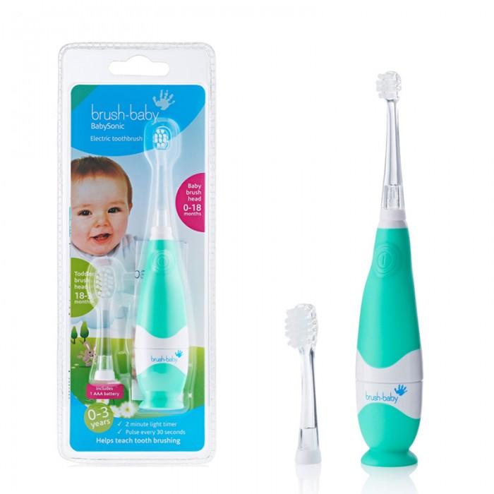 Гигиена полости рта Brush-Baby Электрическая звуковая зубная щётка BabySonic с 0 до 36 мес. r o c s зубная щетка для детей от 0 до 3 лет r o c s baby baby 0304022 1 шт