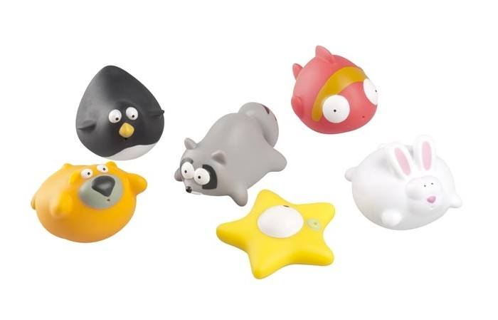 Игрушки для ванны Babymoov Игрушка для ванны 104919 6 шт. babymoov