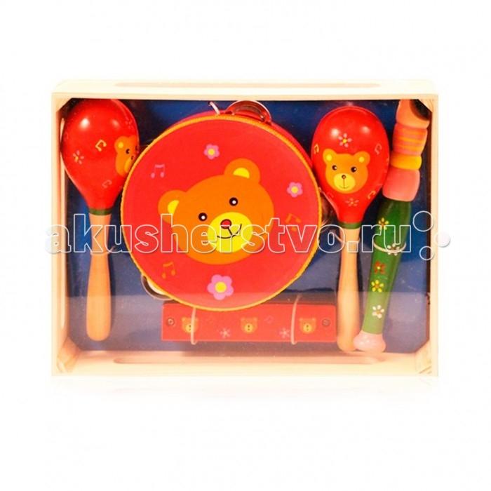 Музыкальные игрушки Папа Карло Набор музыкальные инструменты музыкальные игрушки s s toys музыкальные инструменты