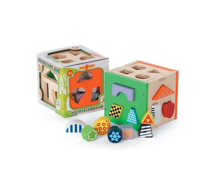 Деревянные игрушки Папа Карло Куб логический